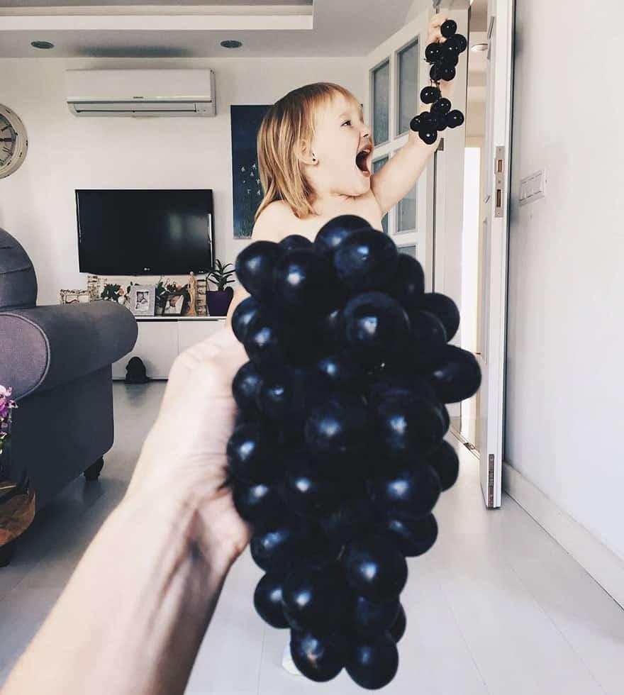 mae-filha-fotos-vestir-vegetais-frutas-perspectiva-fofo18