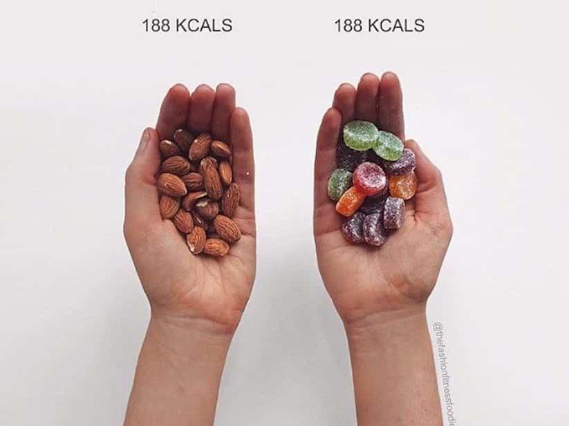 Blogueira fitness mostra que você não sabe nada sobre calorias