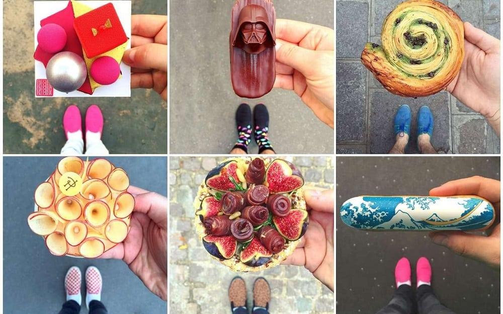 Confeitaria francesa cria doces inspirados em sapatos dos clientes