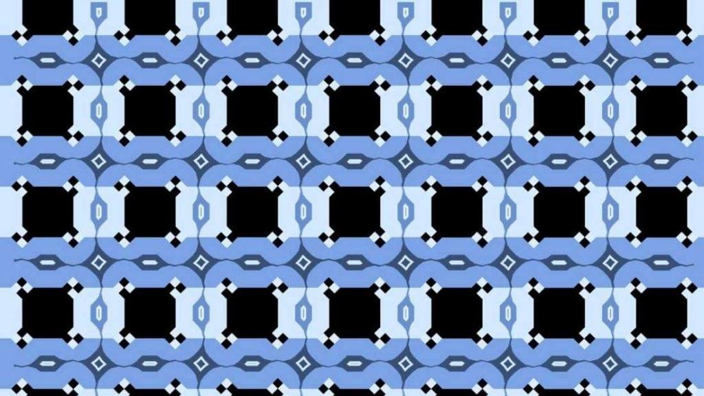Essa ilusão irá mexer com seu cérebro, pois acredite, essas linhas azuis são retas