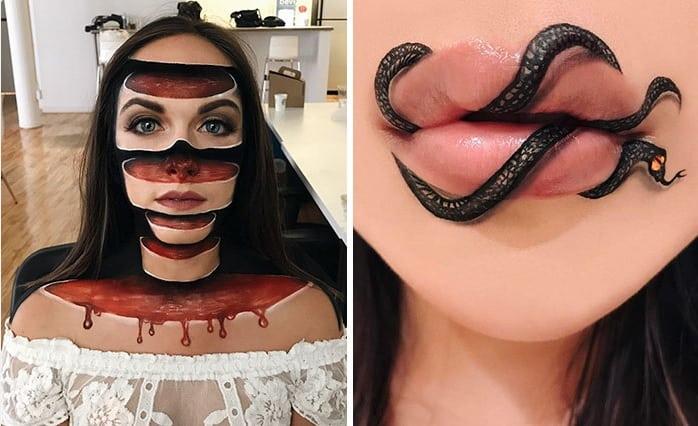 As ilusões ópticas dessa maquiadora vão explodir a sua mente