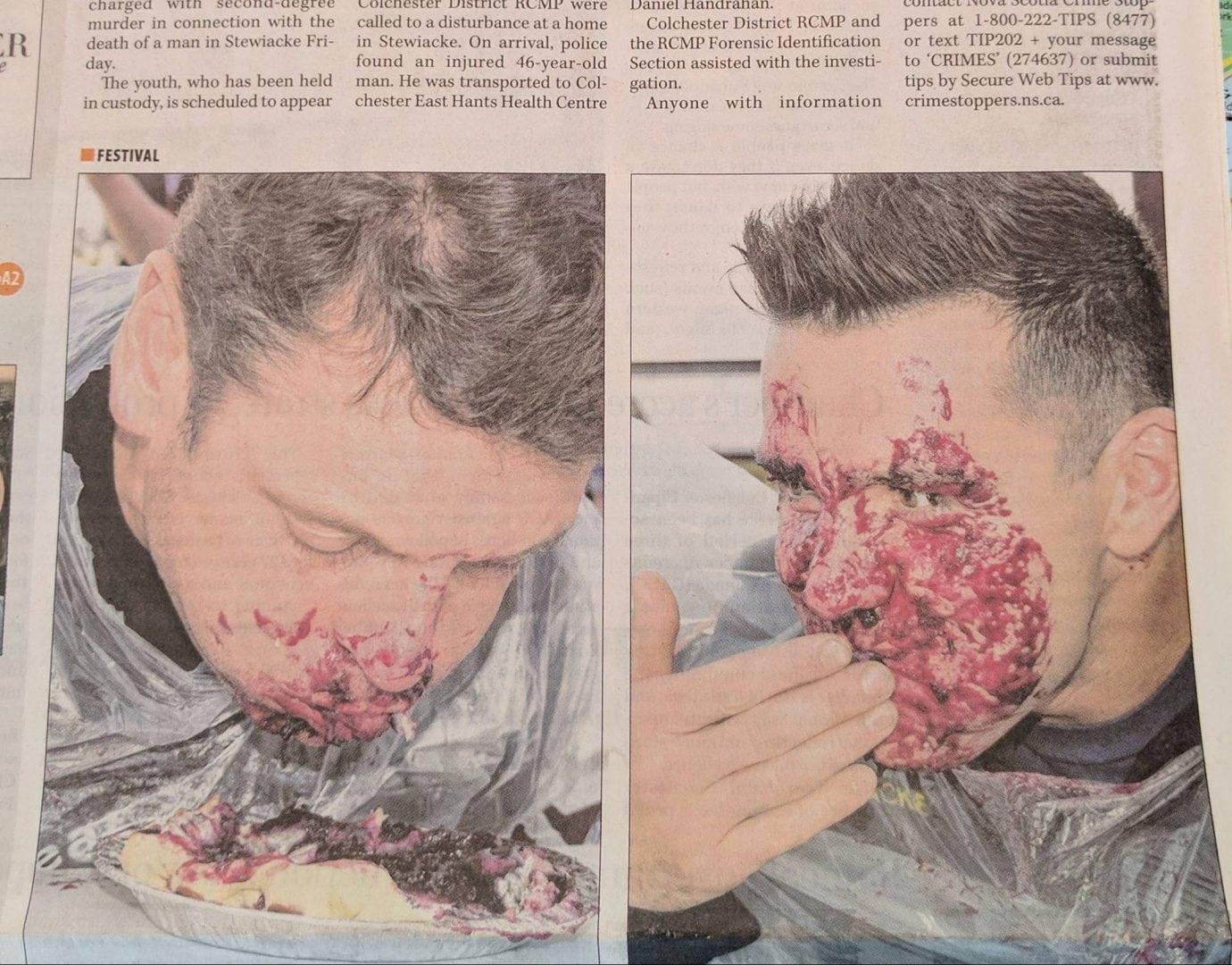 Jornal escolhe a pior foto possível para acompanhar uma história de assassinato