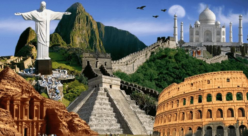 As 7 maravilhas do mundo: quais são as antigas e as modernas