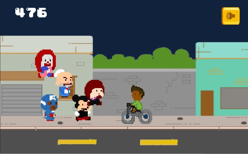 Fotografia do jogo