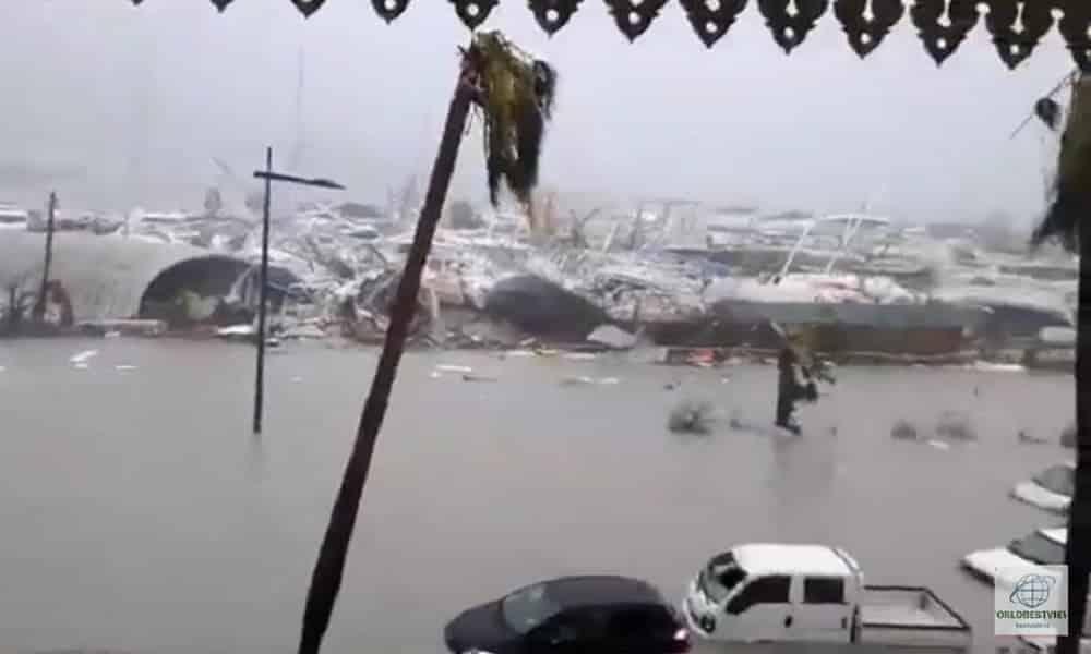 Veja os estragos causados pelo furacão Irma no Caribe