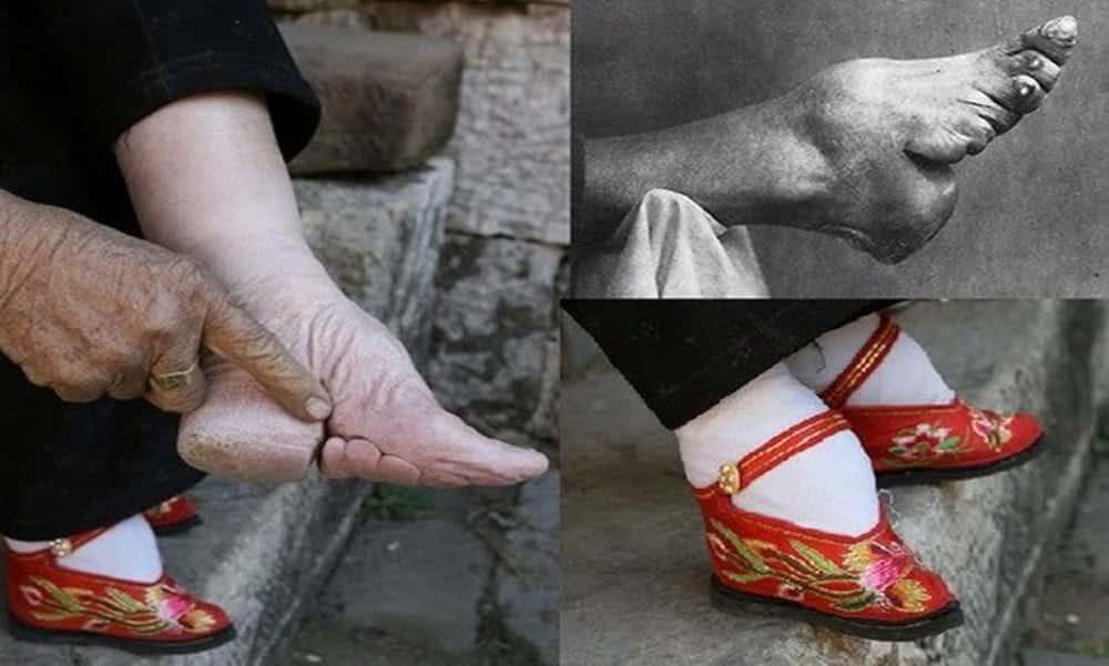Antigo costume deformava pés de chinesas, que podiam ter no máximo 10 cm