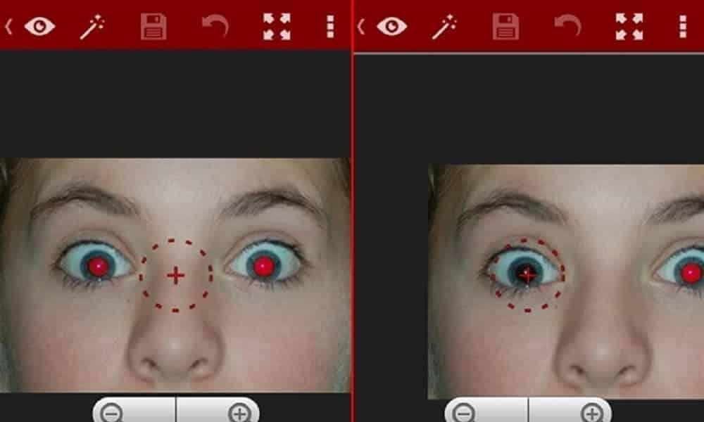Como remover olhos vermelhos de fotos no celular
