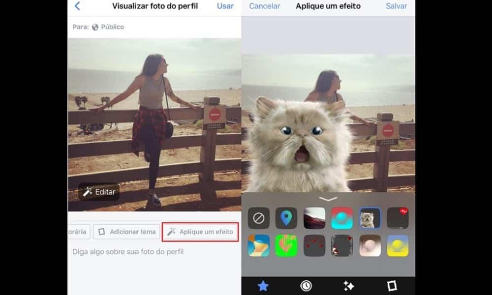 Facebook: como inserir filtros e efeitos em suas fotos de perfil