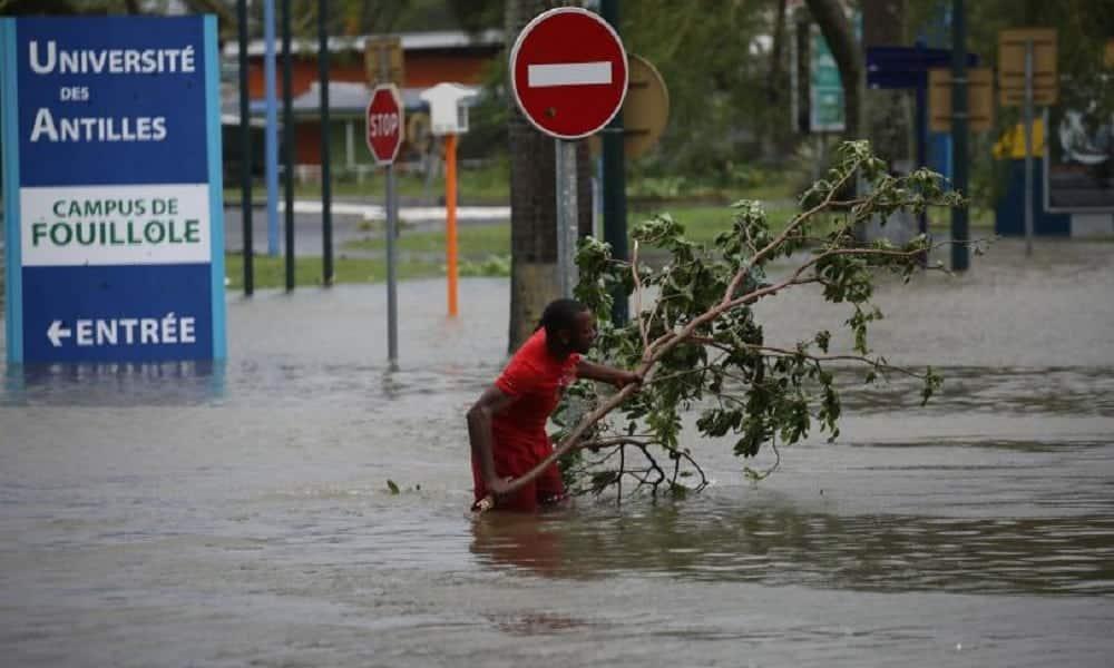 Veja fotos dos estragos do Furacão Maria no Caribe