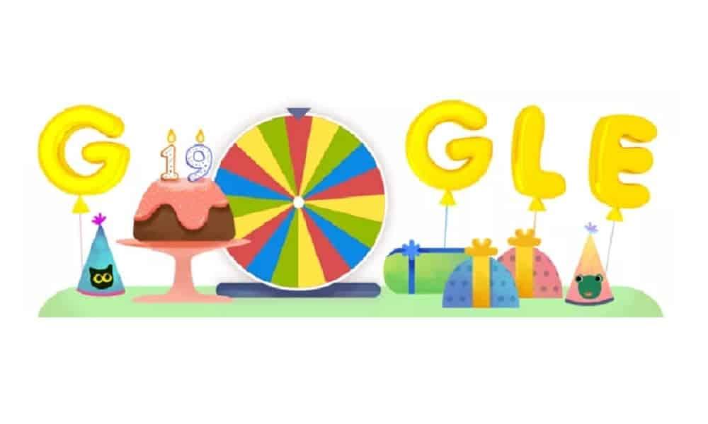 Aniversário do Google ganha melhor doodle da vida, com 19 surpresas