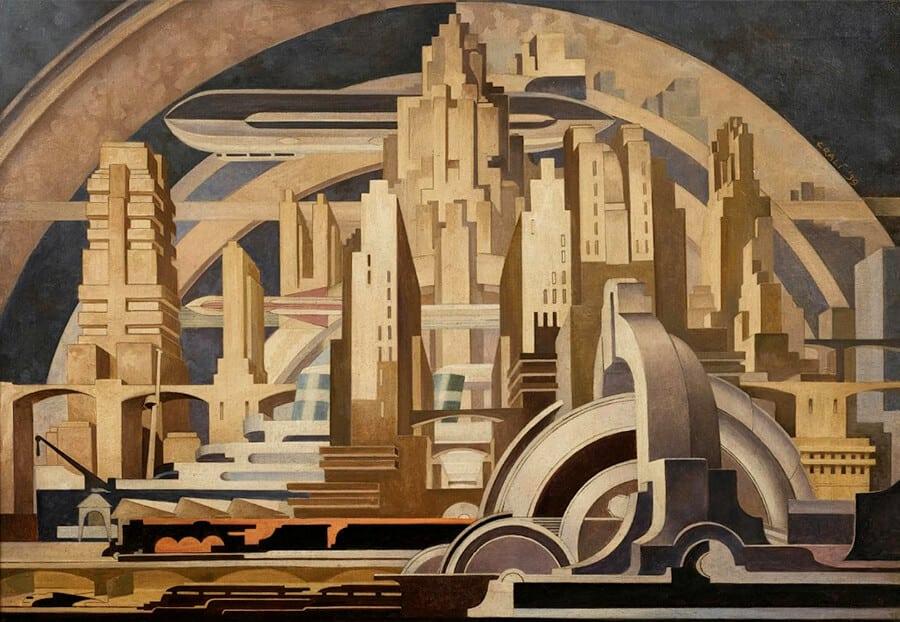 Futurismo, o movimento artístico que desprezava o passado exaltava o moderno