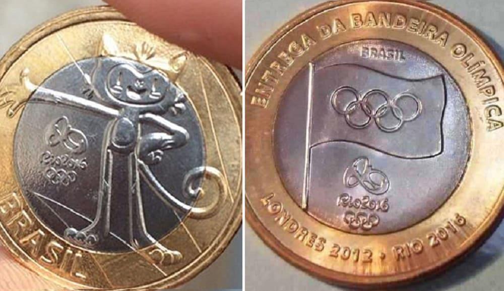 Quanto valem as moedas das Olimpíadas do Rio 2016