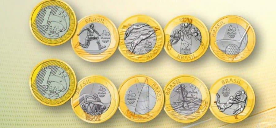 Saiba quanto valem as moedas das Olimpíadas do Rio 2016