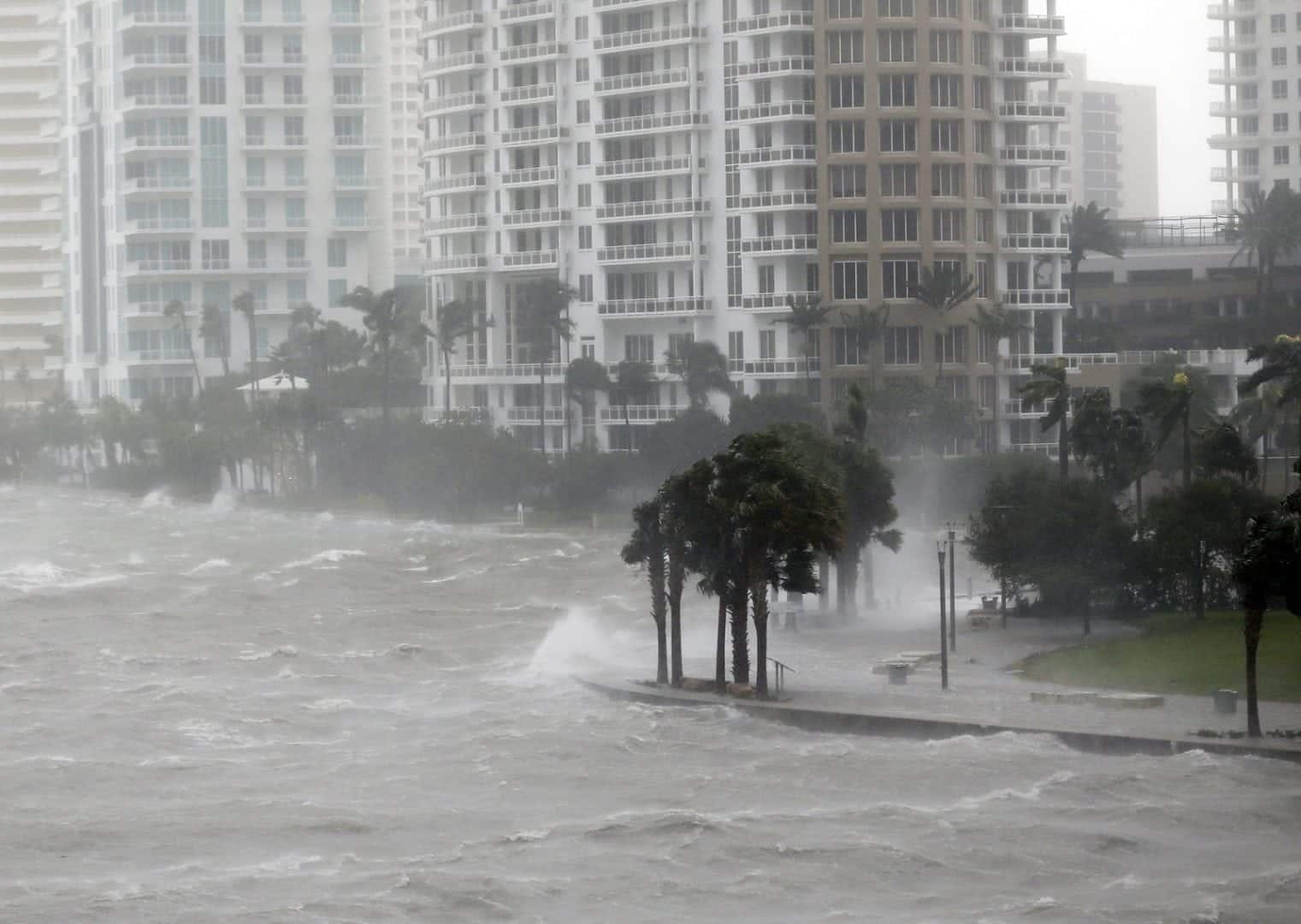 Furacão Irma - Os estragos em Miami depois do furacão