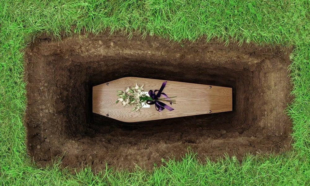 Isso é o que acontece quando morremos