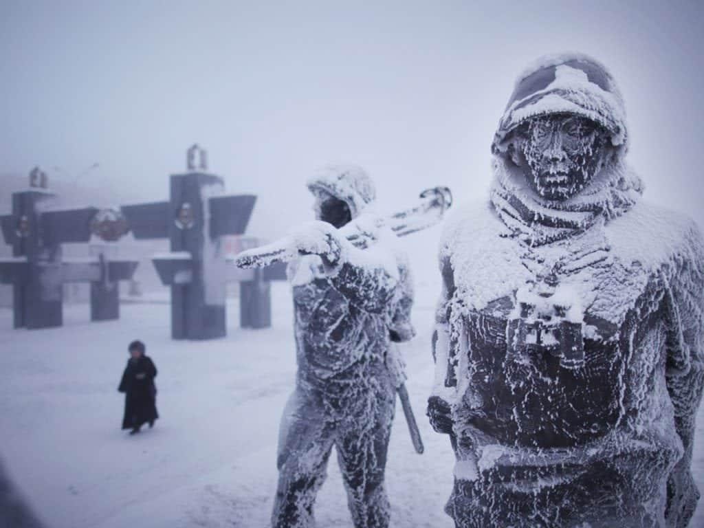 Os 8 lugares mais frios do mundo