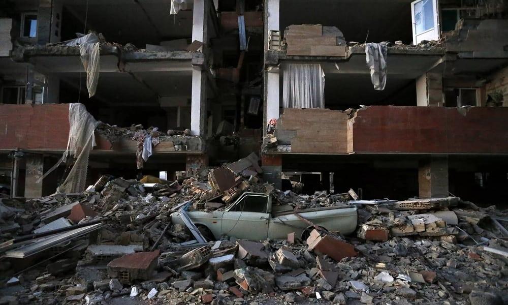 Veja os tragos causados pelo terremoto entre o Irã e o Iraque