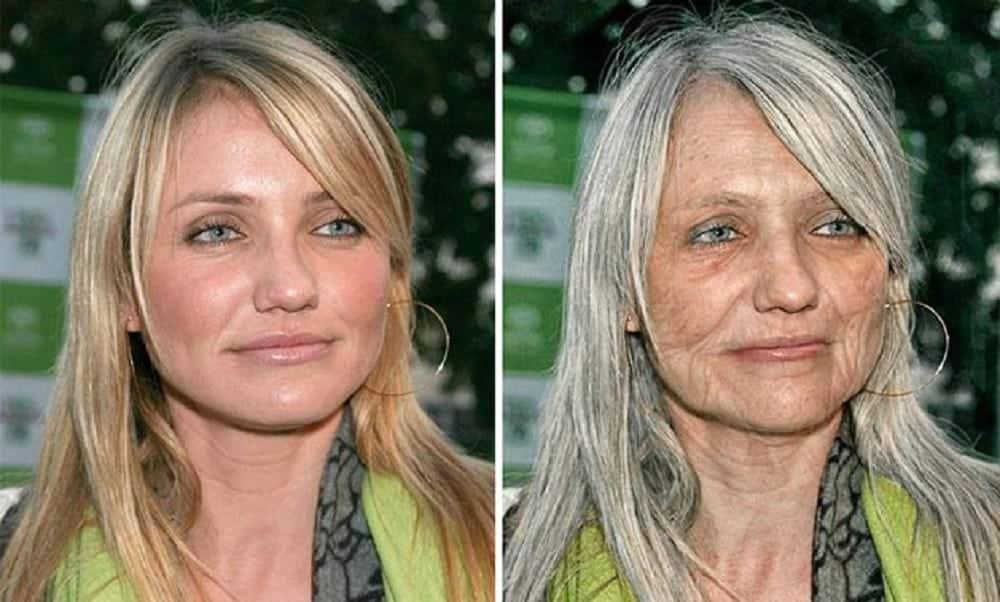 A aparência (provável) dessas 18 celebridades na velhice
