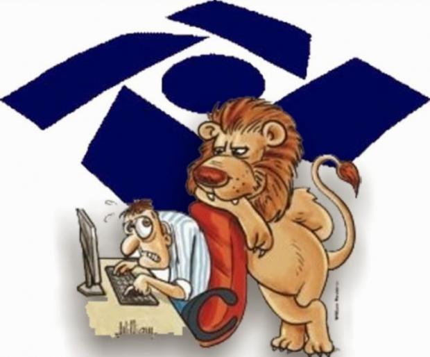 Resultado de imagem para foto do leão do imposto de renda