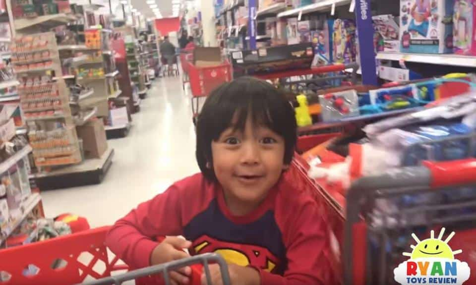 Ryan, o multimilionário de seis anos que integra a lista da