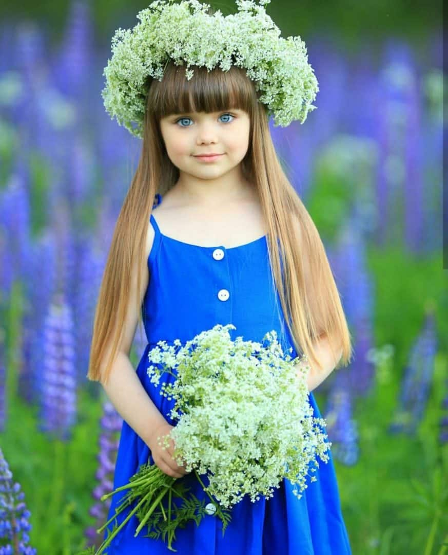 Foto 6 Foto 6: A Menina Mais Bonita Do Mundo é Uma Russa De 6 Anos