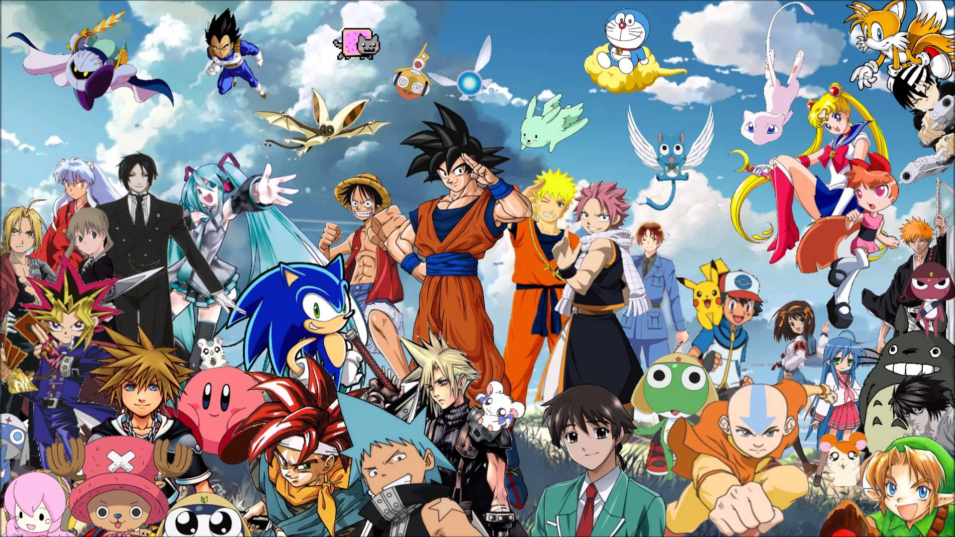 Como desenhar personagens de animes