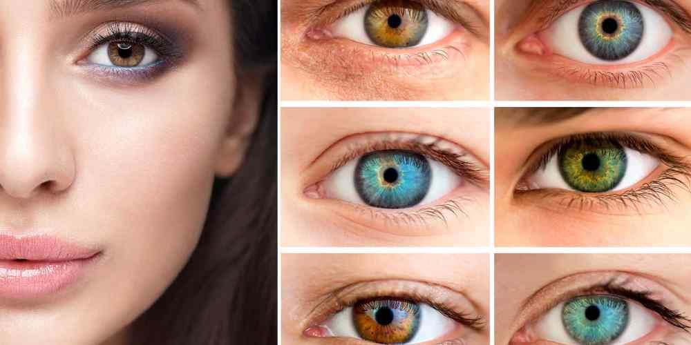 É possível mudar a cor dos olhos atualmente?