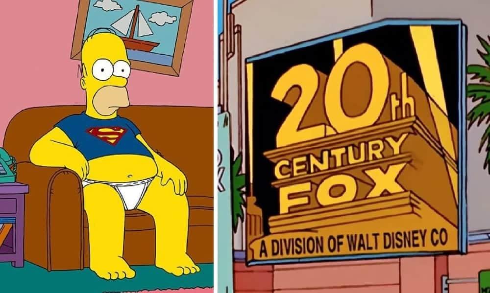 Simpsons previram compra da Fox pela Disney em 1998