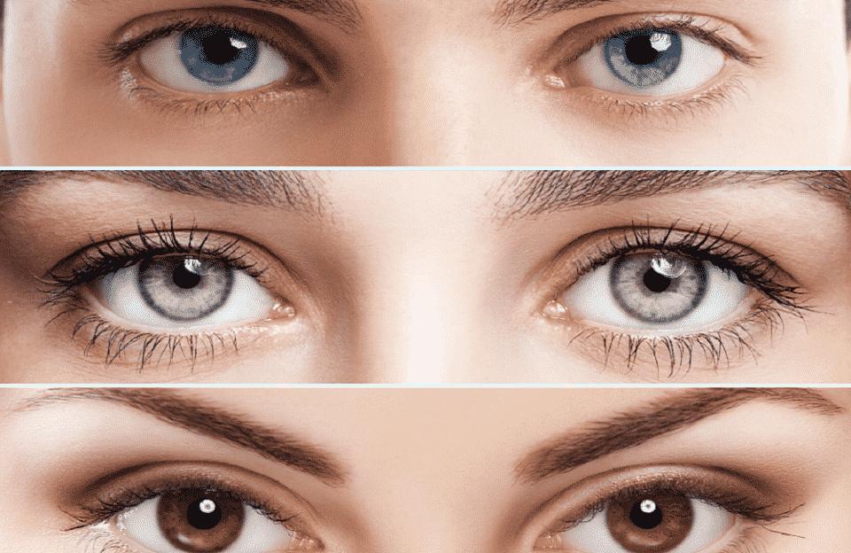 Cores de olhos mais raras e exóticas que existem no mundo