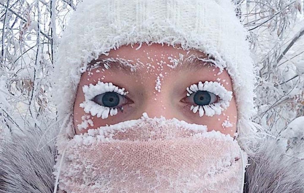 Cidade mais fria do mundo, Rússia, registra até -62ºC