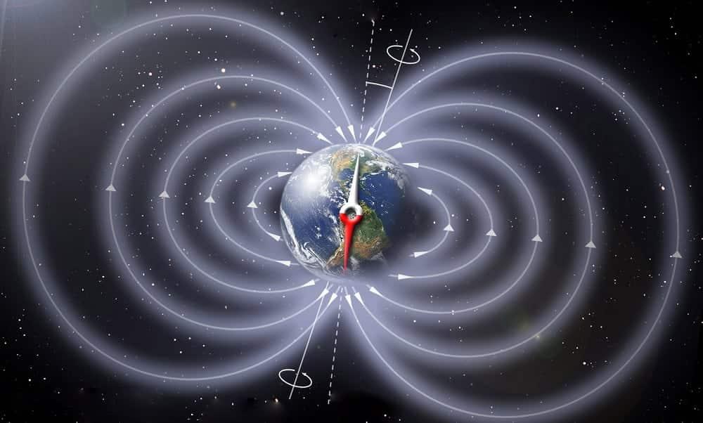 Resultado de imagem para alteração polos magneticos da terra