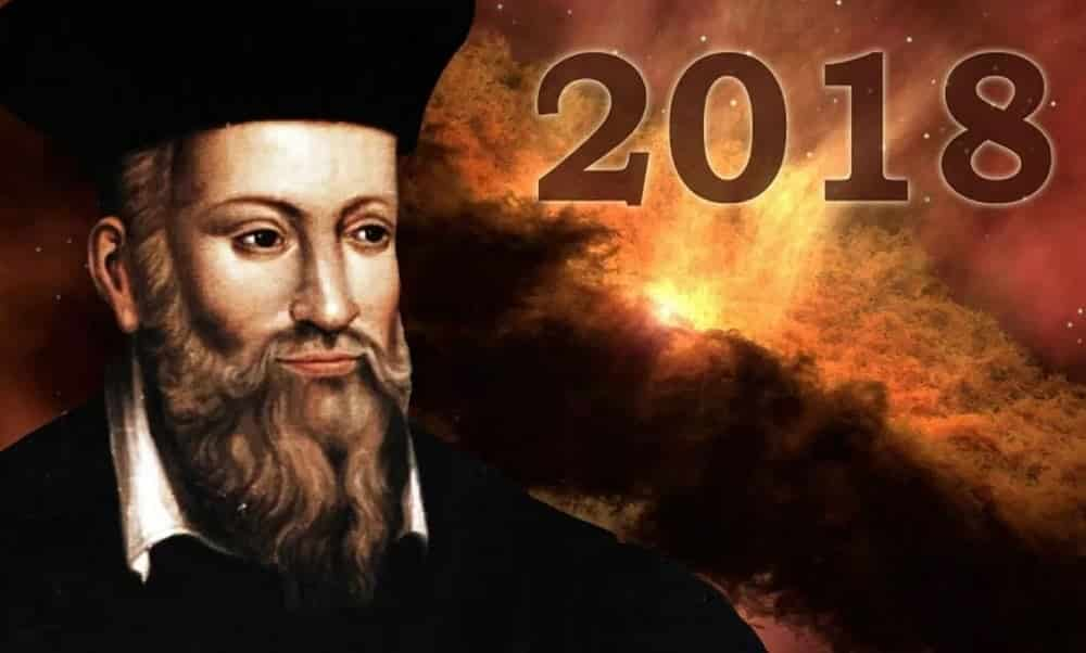 7 assustadoras profecias de Nostradamus para 2018