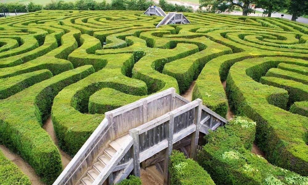 Esse é o jeito mais eficiente de escapar de um labirinto