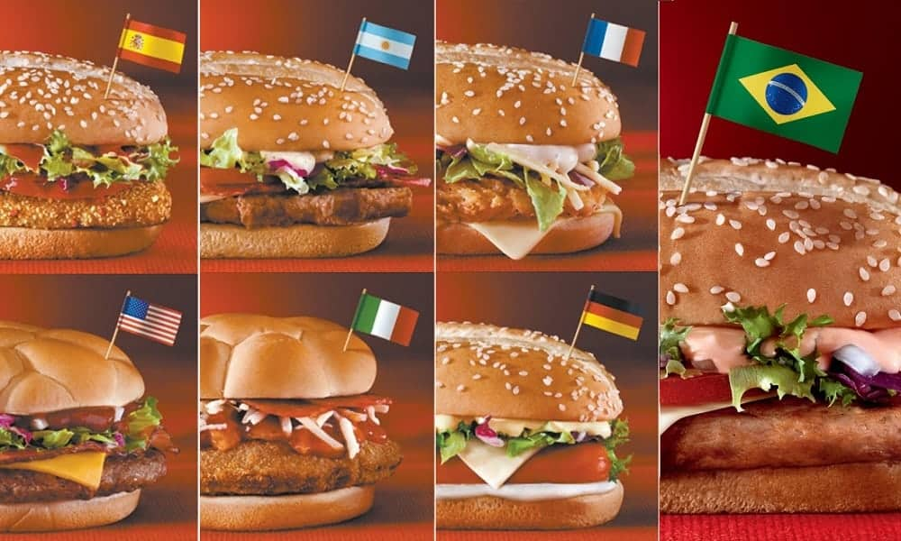 McDonald's para a Copa do Mundo 2018: 8 sandubas para o mundial