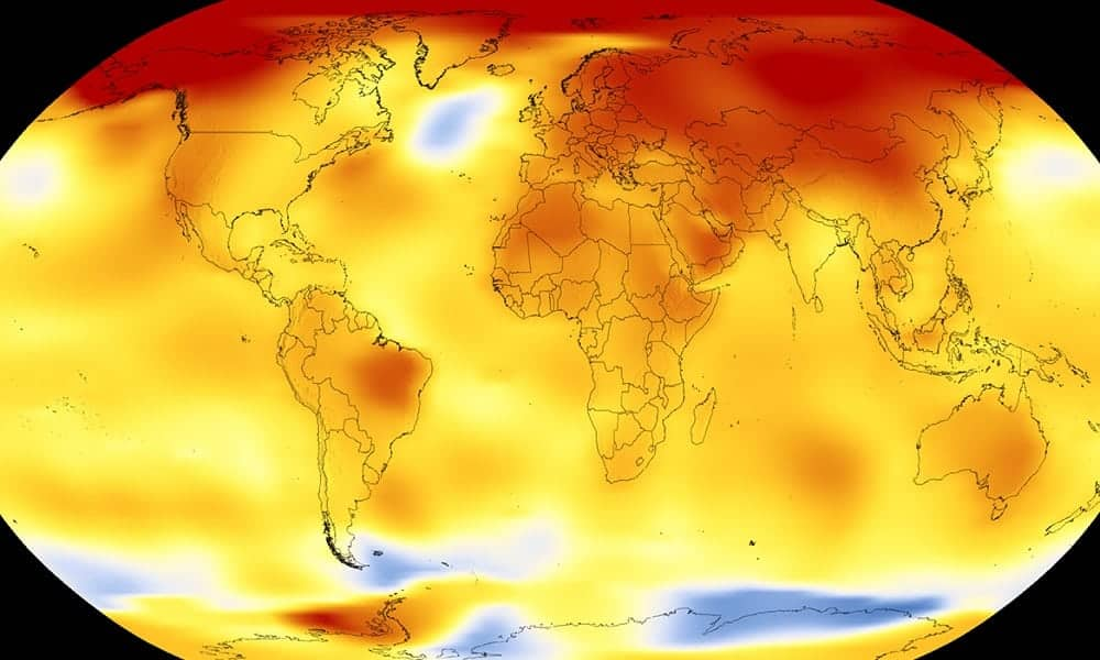 Confira como temperatura da Terra aumentou nos últimos 140 anos
