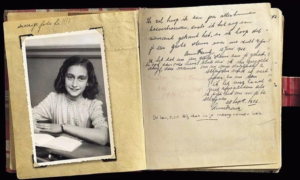 Páginas Do Diário De Anne Frank Censuradas Por Anos São Reveladas