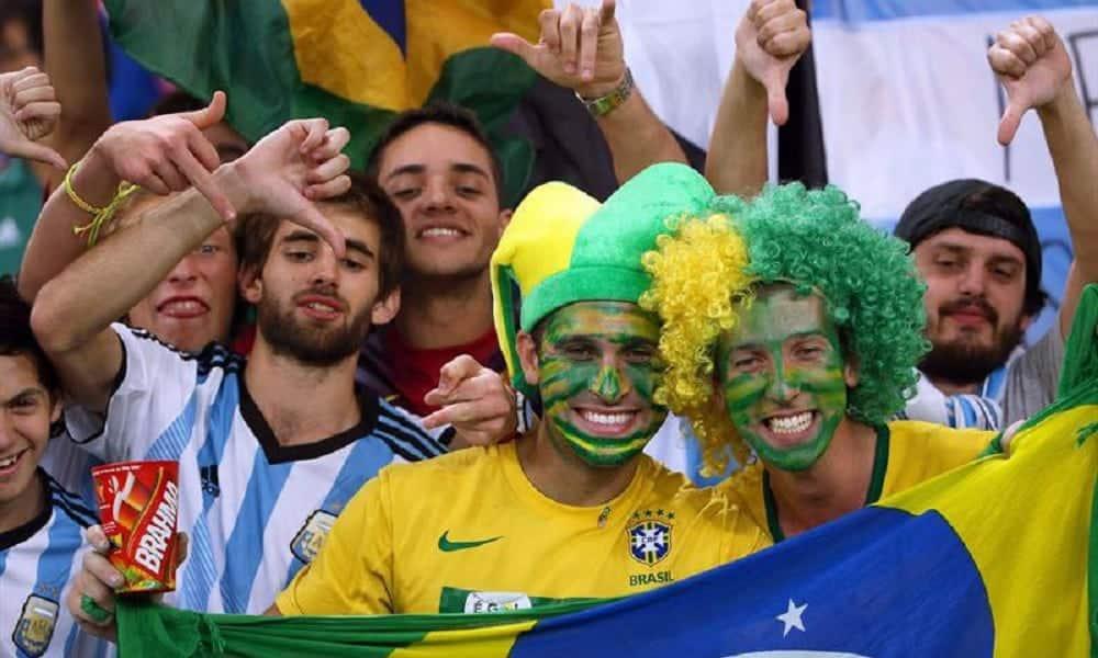 5 países que adoram torcer pelo Brasil na Copa do Mundo