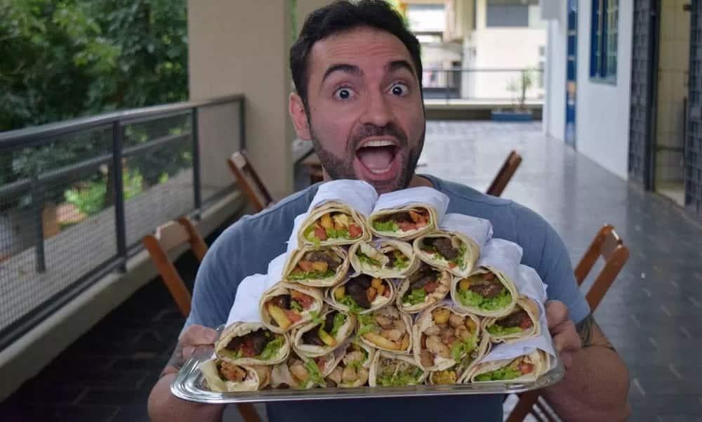 Conheça Ricardo Corbucci, o youtuber conhecido como atleta da comida