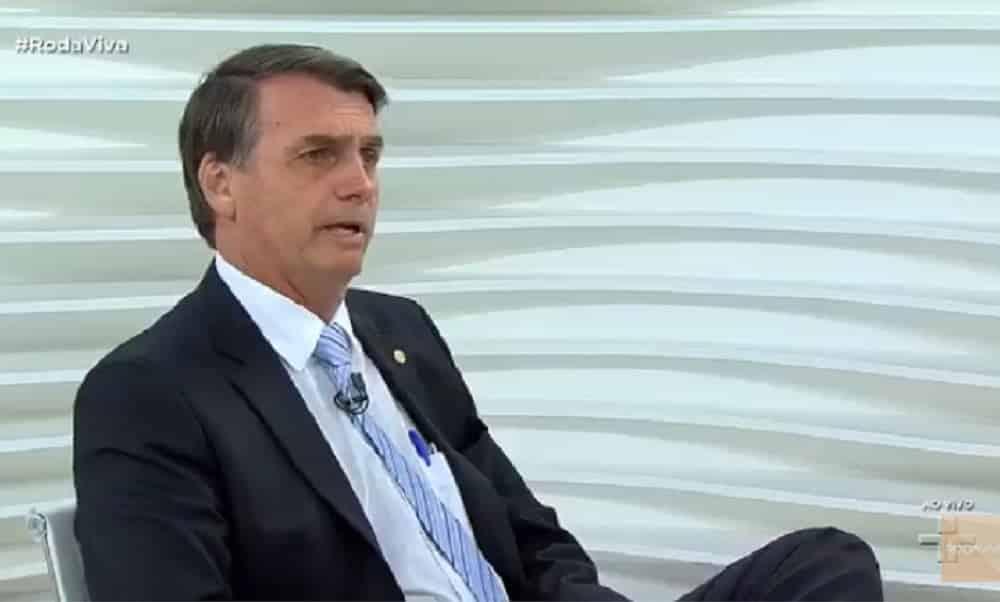 Assista ao debate de Jair Bolsonaro no Roda Vida