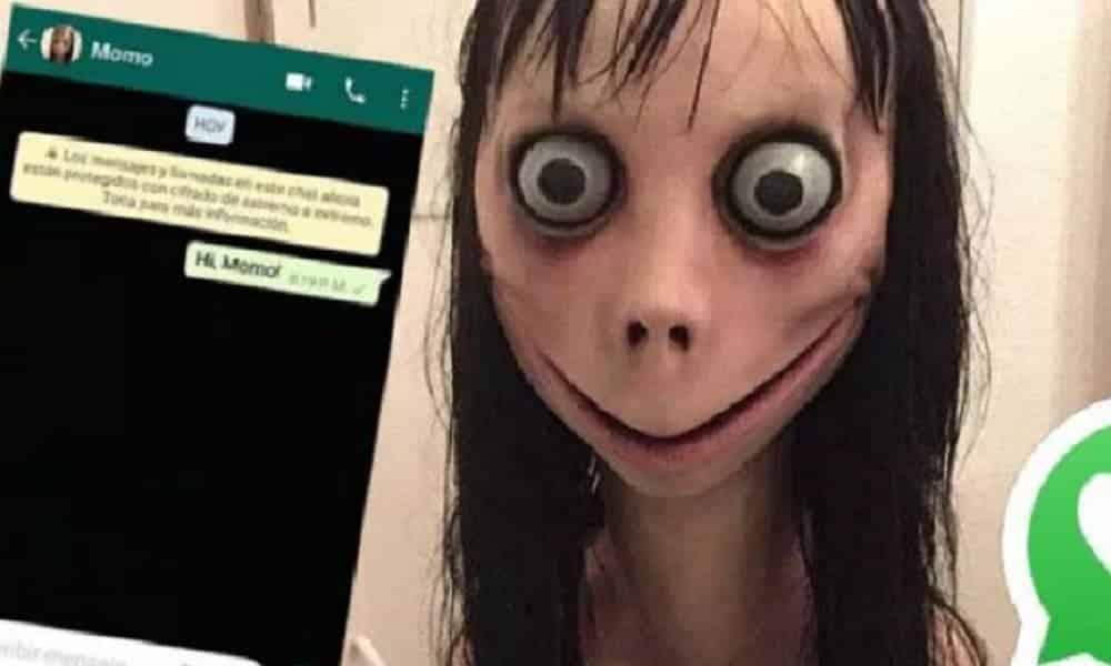 O perigo real de Momo, a lenda urbana que viralizou no WhatsApp