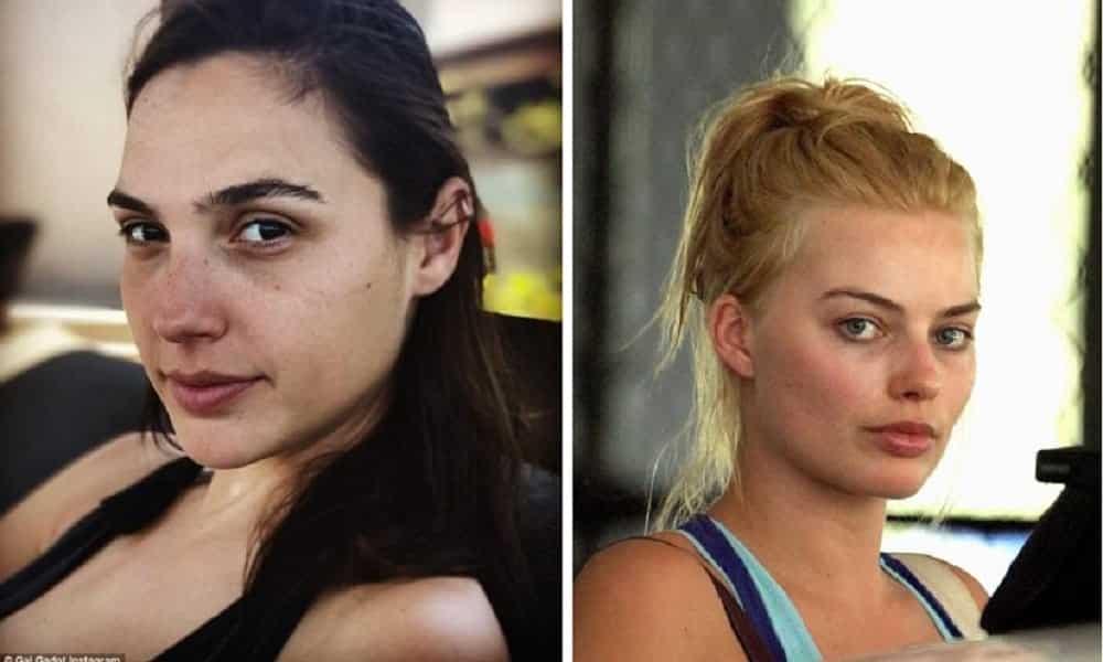 17 atrizes dos filmes de super-heróis flagradas sem maquiagem