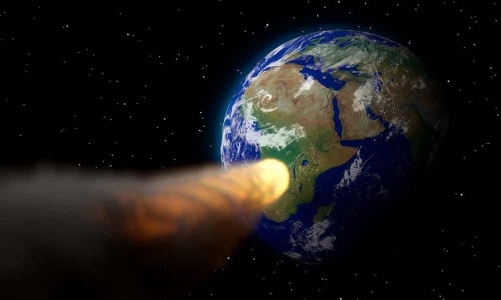 Asteroide gigante passa de raspão pela Terra nessa quarta-feira
