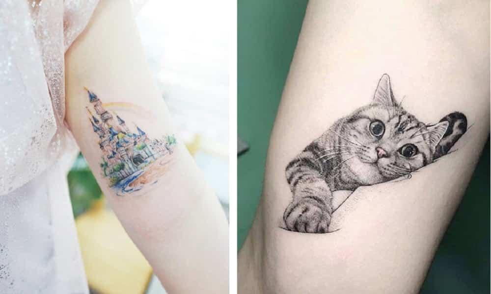 25 tatuagens fofas, delicadas e incrivelmente ricas em detalhes