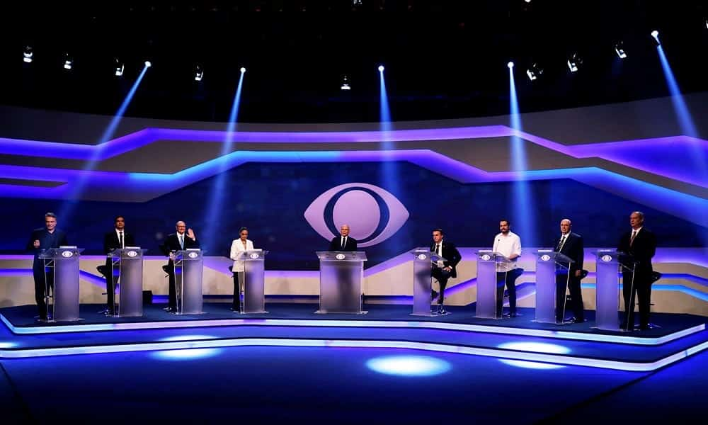 As datas dos próximos debates políticos na TV [1º turno de 2018]