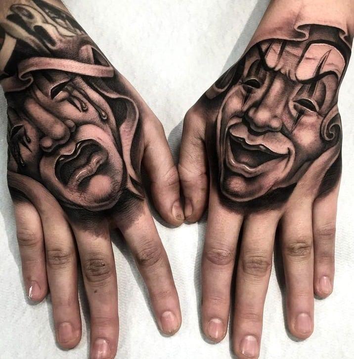 90 Ideias De Tatuagem Na Mão Para Quem Quer Uma Tattoo Nada