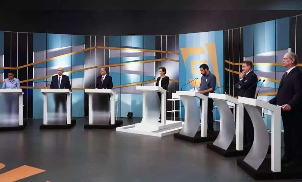 Assista, na íntegra, ao debate da TV Gazeta com os presidenciáveis