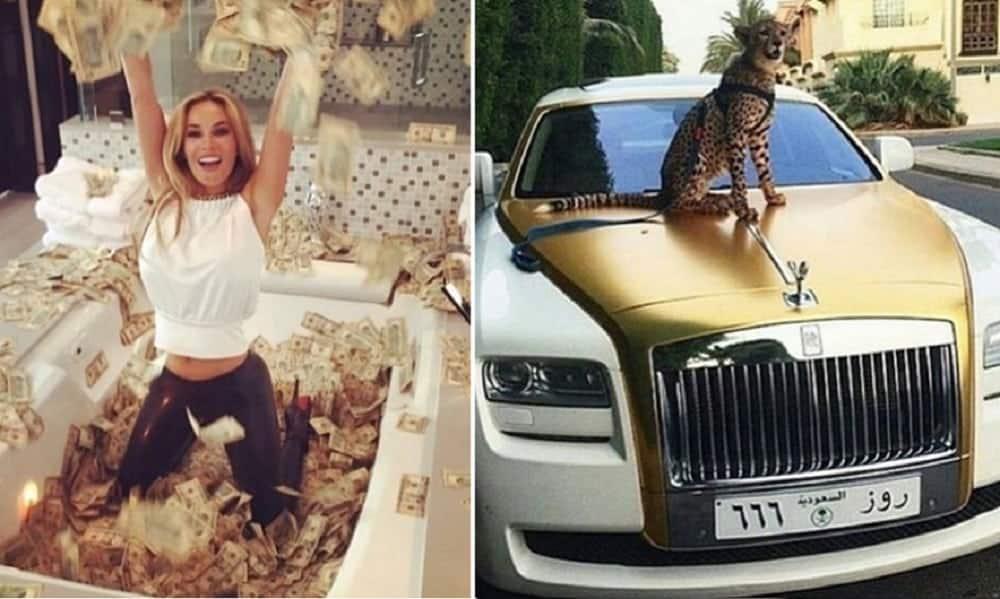 Conta no Instagram reúne extravagâncias de milionários pelo mundo