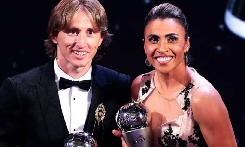 Melhor jogador do mundo: Modrić e Marta levam título no Fifa 'The Best' 2018