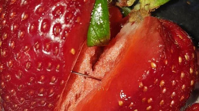 A verdade por trás das agulhas encontradas em morangos na Austrália