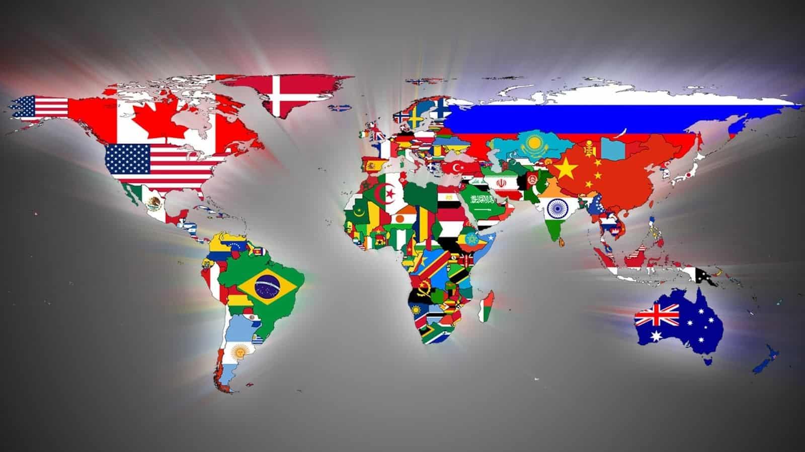 Quantos países existem no mundo hoje? [E porque alguns